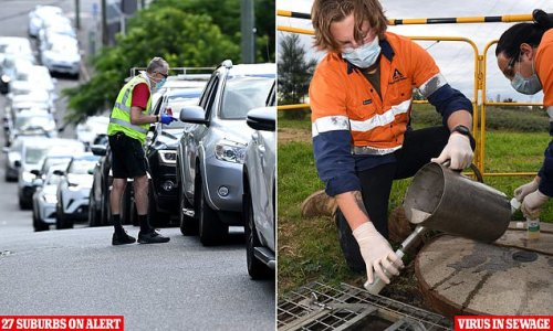 Urgent alert as Covid fragments are found in Australian sewage