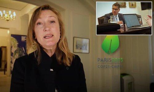 PM's sidelined spokeswoman Allegra is FINALLY seen on screen