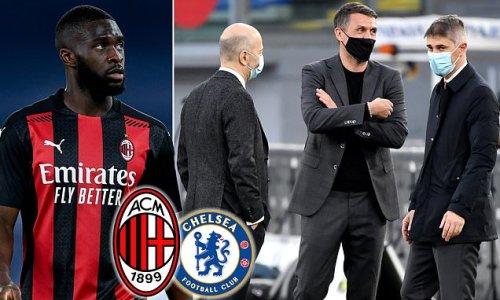 Tomori 'holds talks with Milan legend Maldini over permanent deal'