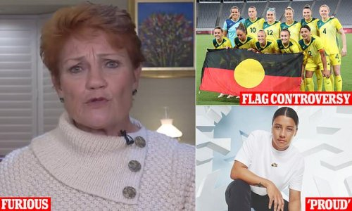 Pauline Hanson wants to know where PM stands over that Matildas' photo