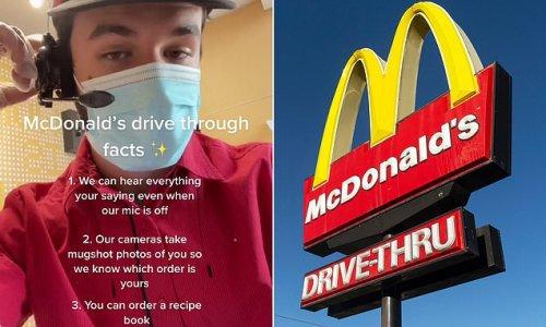 McDonald's employee reveals three secrets about the drive-thru