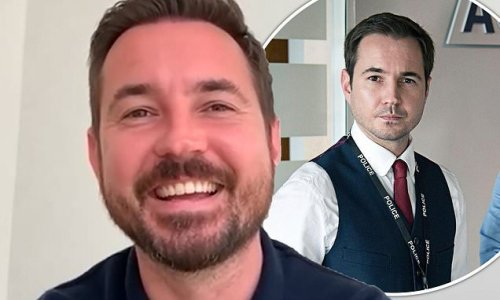 Line Of Duty's Martin Compston hits back at troll over Scottish roots