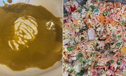 Chef shares his simple four-ingredient salad dressing recipe