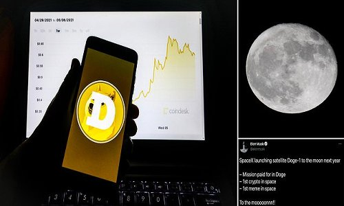 SpaceX accepts dogecoin as payment to launch lunar satellite