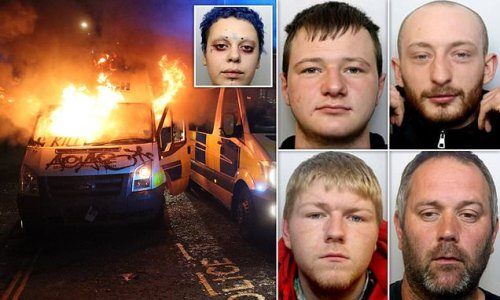 Four 'Kill the Bill' Bristol protestors are jailed for 14 years