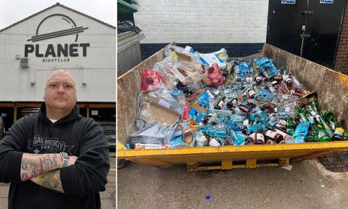 Nightclub pours £7k of alcohol down drain after Freedom Day postponed