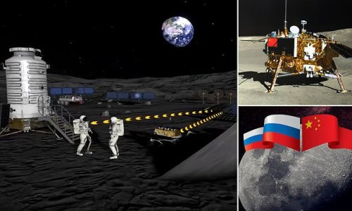 Russia and China reveal their roadmap to build a base on the MOON