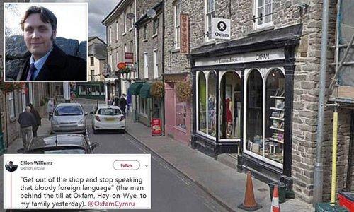 Oxfam change shop's locks and axe volunteers over Welsh language row