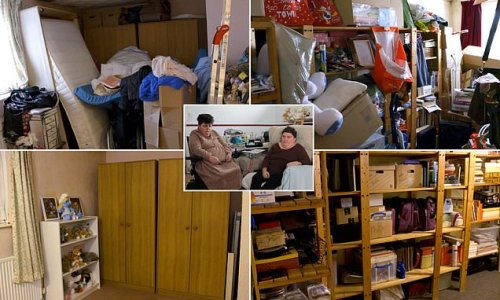 Hoarding mother and daughter have their home professionally cleaned