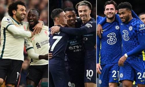 How Chelsea, Liverpool and Man City are faring in the PL title race