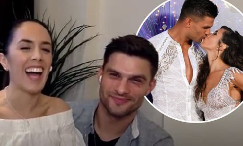 Janette Manrara 'fallen in love all over again' with Aljaz Skorjanec