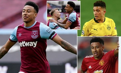 FAN VIEW: Lingard has thrived at West Ham but he shouldn't come back