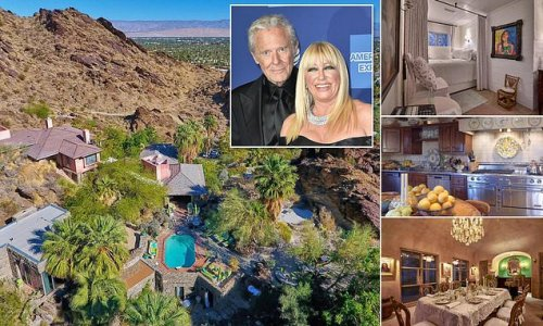 Suzanne Somers, 74, sells Palm Springs mansion 'for $8.5M'