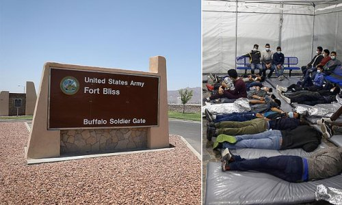 Guards at Texas kids migrant camp ban pencils to stop suicide attempts