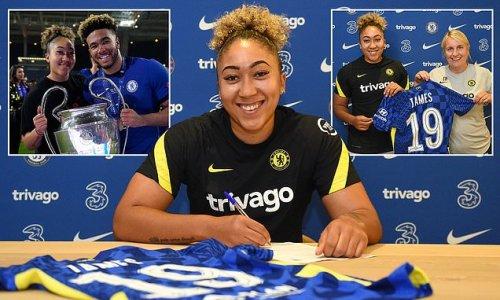 Lauren James' record-breaking move to Chelsea officially confirmed