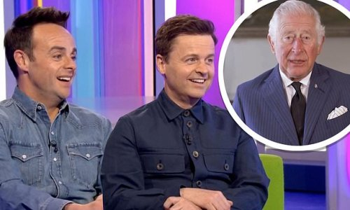 Prince Charles jokes Ant and Dec have 'followed him around'