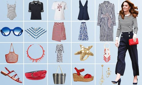Sailor way: FEMAIL picks out buys for embracing this season's trend