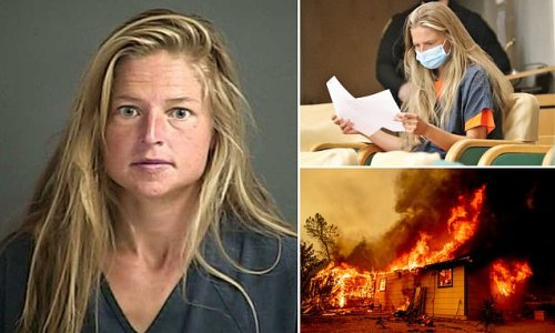 Woman arrested on suspicion of starting California wildfire