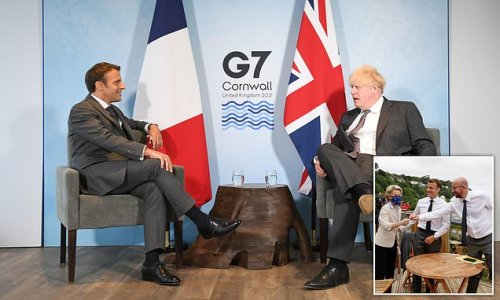 Boris Johnson attacks EU over Northern Ireland rules after G7 talks