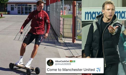 Man City and United fans urge Nagelsmann to leave Bayern for England