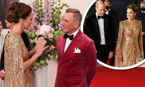 Daniel Craig is wowed by the Duchess of Cambridge