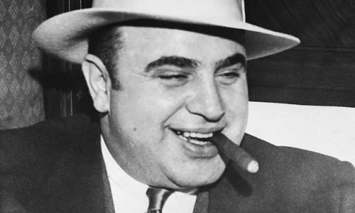 CRAIG BROWN: Comedy turn gets the bullet from Al Capone