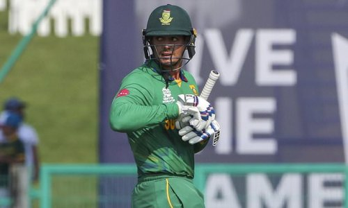 De Kock pulls out of T20 World Cup match due to 'personal reasons'