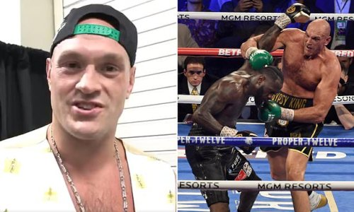 Tyson Fury signs contract to face Deontay Wilder on July 24