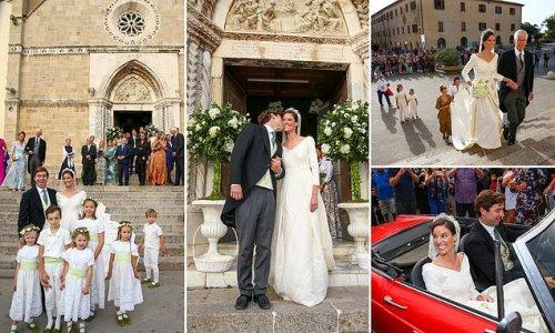 Princess Marie Astrid of Liechtenstein marries Ralph Worthington
