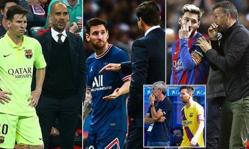Mauricio Pochettino is the latest coach to feel Lionel Messi's wrath