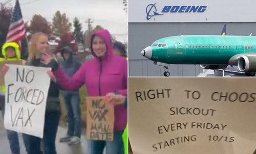 Boeing employees in Seattle organize group sickout Fridays in protest
