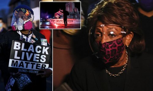 Maxine Waters tells BLM protesters 'get more confrontational'