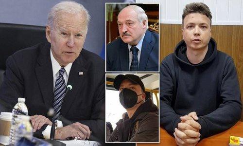 Biden calls Belarus plane diversion an 'outrageous incident'