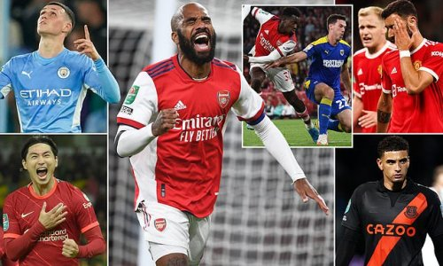 The WINNERS and LOSERS from this week's Carabao Cup action