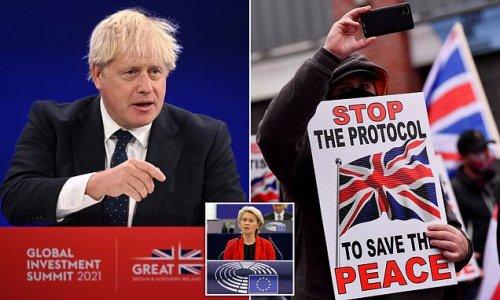 Boris Johnson vows to 'fix' Northern Ireland Protocol
