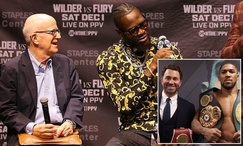 Hearn criticised by Wilder's co-manager for planning Joshua vs Fury