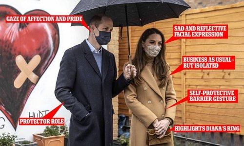 'Vulnerable' Kate Middleton while Prince William was 'protector'