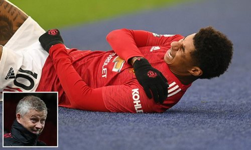 Man United will hold talks with Marcus Rashford over shoulder surgery