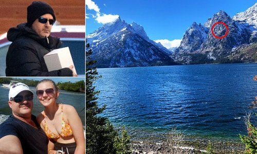 Gabby Petito's dad posts picture of Wyoming lake where body was found