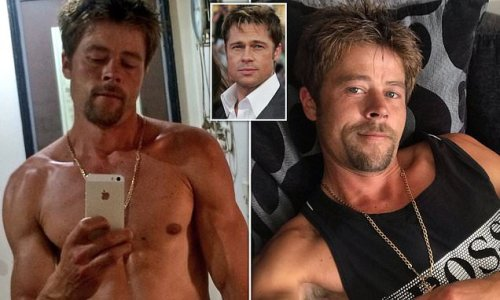 Single dad, 35, who looks just like Brad Pitt was 'stalked' by women