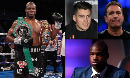 Dubois teams up with Shane McGuigan as he splits with trainer Tibbs