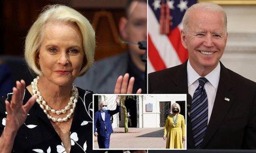 Biden officially names Cindy McCain as ambassador to UN food agency