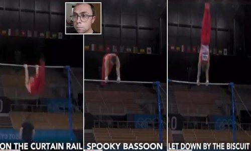 Joe Tracini's comedy commentary on GB gymnast ges viral