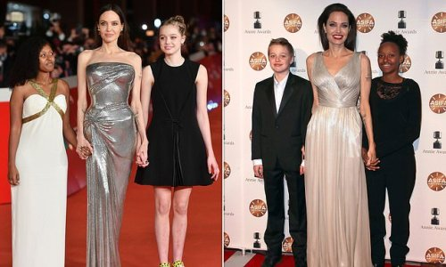 Angelina Jolie's daughter Shiloh turns her back on 'dude' style