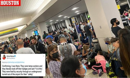 Passengers are left stranded as airlines buckle under demand