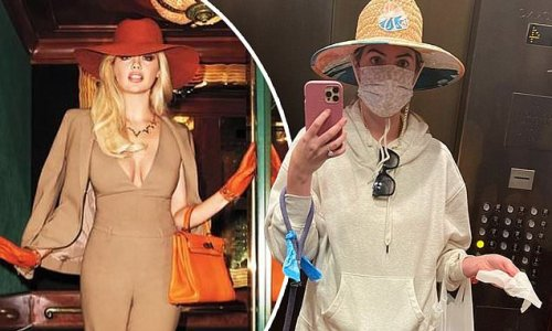 Kate Upton compares glamorous elevator shoot with her day-to-day look