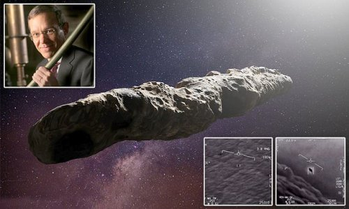 Harvard physicist says there may be a link between 'Oumuamua and UFOs