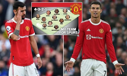 Ronaldo and Fernandes must be DROPPED for Solskjaer to save his job