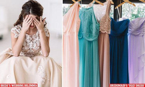 Bride furious after her bridesmaid chooses an 'ugly' dress
