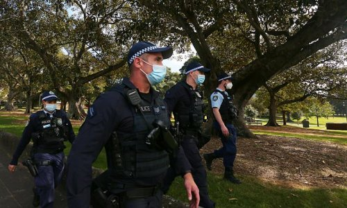 Heavy police presence in Sydney over anti-lockdown protest fears